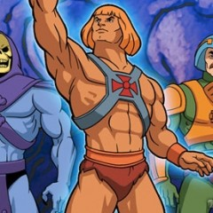 He Man and Skeletor on Come Dine With Me