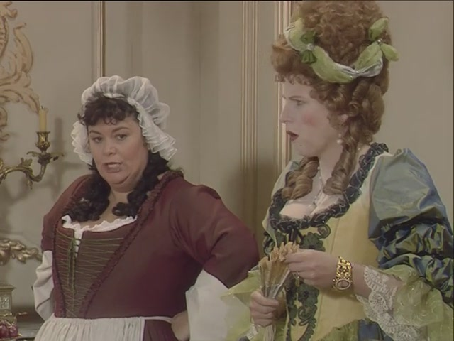 Let Them Eat Cake (Eng – sitcom – French and Saunders)