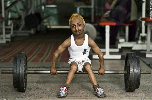 Romeo Dev – The World's Smallest Muscleman