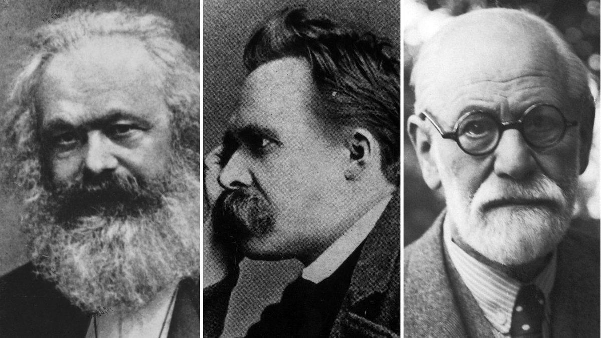 Genius of The Modern Age (doc – Freud, Nietzsche, Marx)
